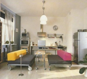 дизайн кухни студии - art-rene.ru