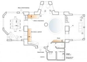 план загородного дома - www.art-rene.ru